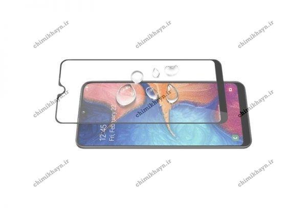 محافظ صفحه نمایش شیشه ای برای گوشی سامسونگ گلکسی A20