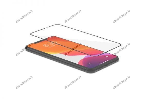 محافظ صفحه نمایش سرامیکی مات ضدضربه برای گوشی آیفون XS MAX