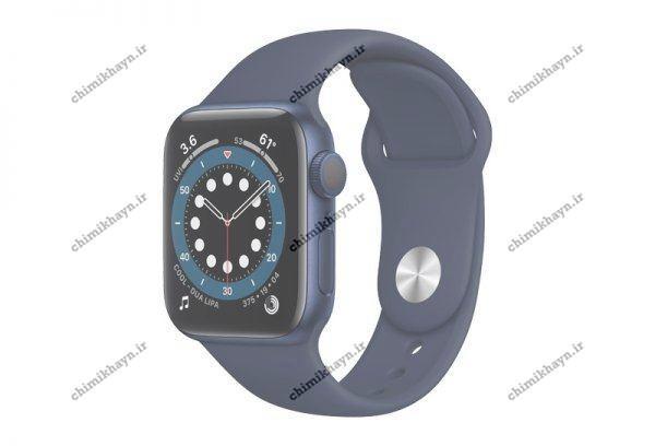 ساعت هوشمند اپل واچ سری 6 با بند اسپرت