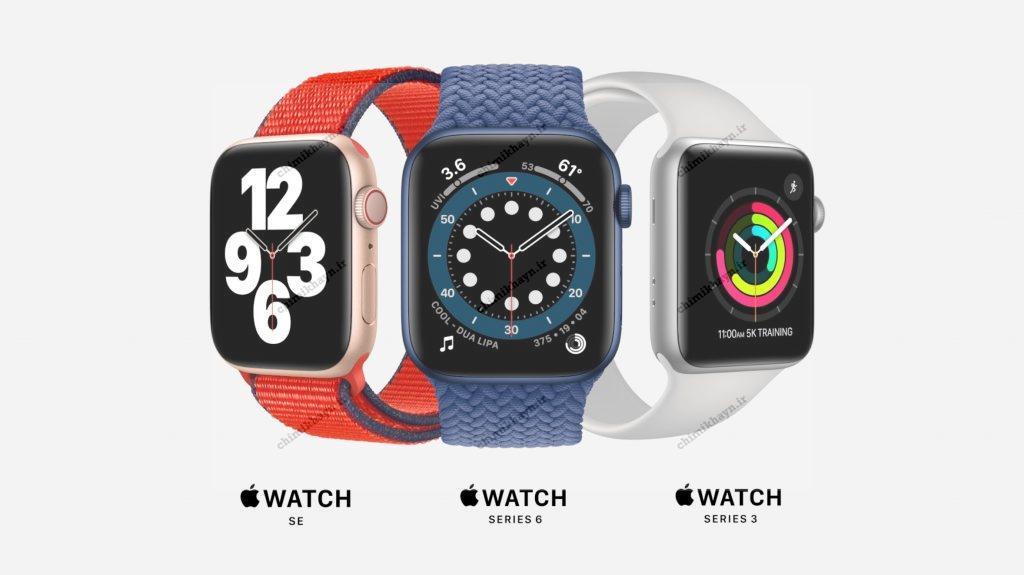 ساعت هوشمند اپل واچ سری SE با بند اسپرت عکس 5