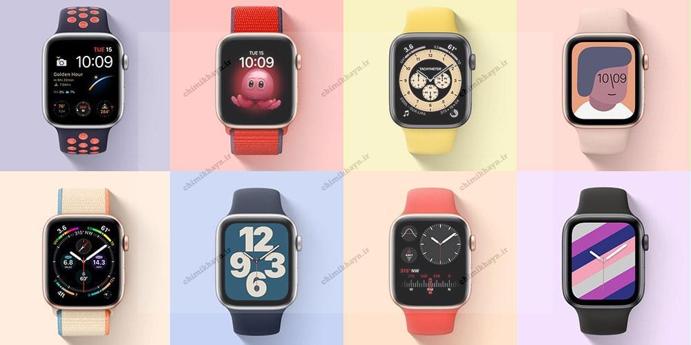 ساعت هوشمند اپل واچ سری SE با بند اسپرت عکس 6