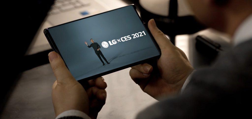 گوشی جدید رول شدنی ال جی در سال 2021 رونمایی می شود .